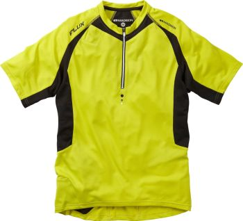 Madison Flux Men's Short Sleeved Jersey Limeaid