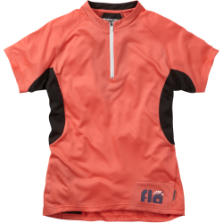 Madison Flo Women's Short Sleeved Jersey Coral
