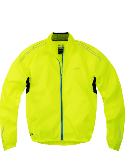 Madison Pac-it Men's Showerproof Jacket Hi-viz Yellow