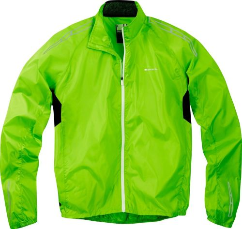 Madison Pac-it Men's Showerproof Jacket Green Flash