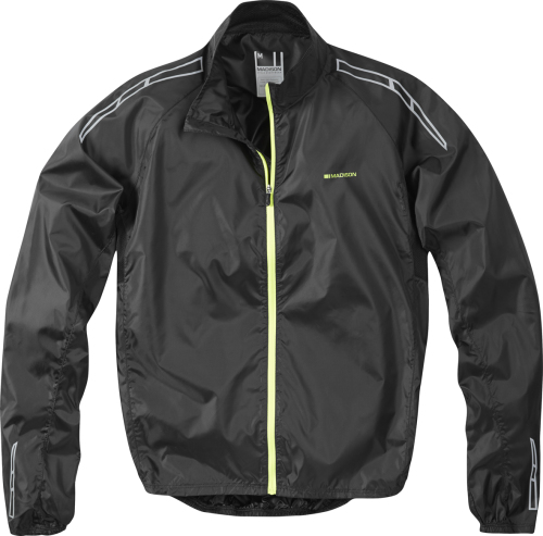Madison Pac-it Men's Showerproof Jacket Black