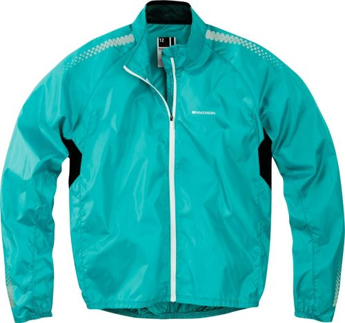 Madison Pac-it Women's Showerproof Jacket Aqua Blue