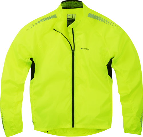 Madison Pac-it Women's Showerproof Jacket Hi-viz Yellow