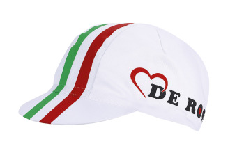 De Rosa Bike Cap Tri Colour