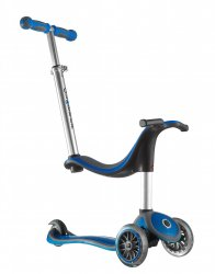 Globber 'My Free' 2C 4-in-1 Scooter - Blue