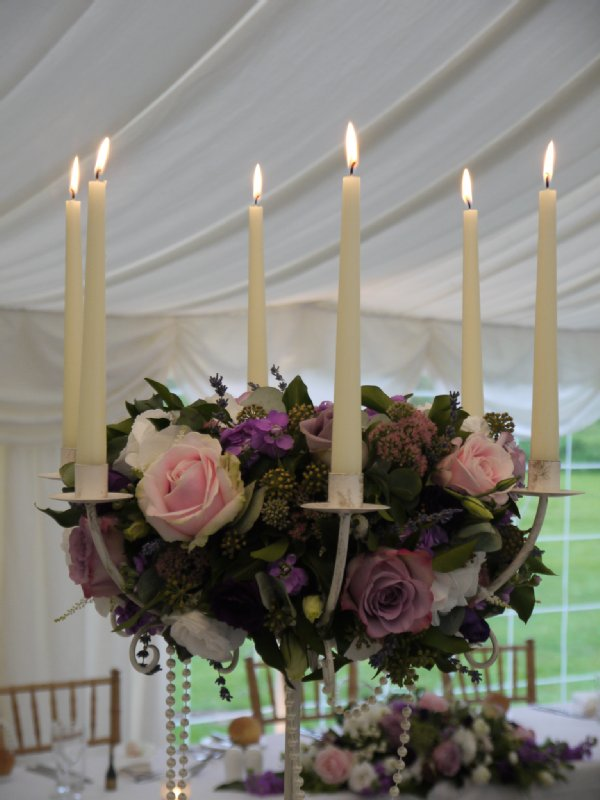 CANDLELABRA FOR WEDDING