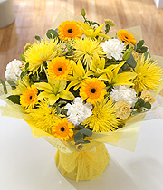 Golden Sunshine Hand-Tied
