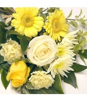 mixed sheaf yellow and white
