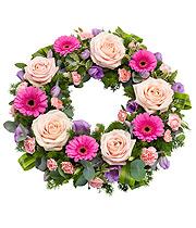 Pink Wreath.
