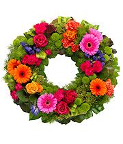 Vibrant Wreath.