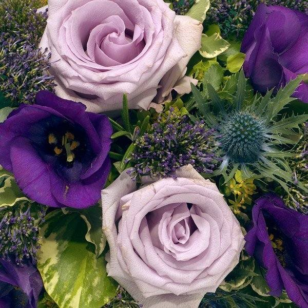 aa posy blue and lilac