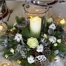 White Table Arrangement.