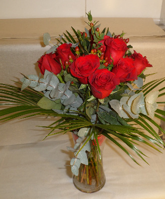 Twelve Red Rose Special Offer.