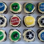 football cup cakes