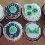 skoda cup cakes 2