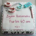 french birthday cake