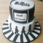 the beatles birthday cake