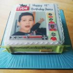 youtube theme birthday cake