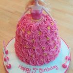 dolly birthday cake