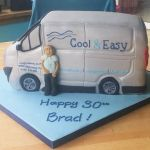 grey van birthday cake 4