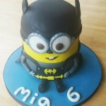 minion batman birthday cake