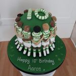 Celtic Huddle 10th birthday cake