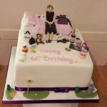 Designer bags 60th birthday cake
