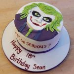 The Joker 18th birthday cake