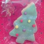 christmas christmas tree iced biscuit