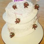 pudding slide christmas cake