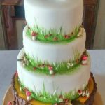 woodland cake 4 tiers