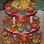 Mr Men wedding cake