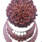 Chocolate Wedding cake 1