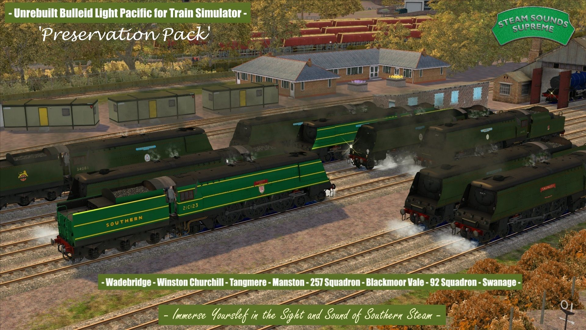 Bulleid Light Pacific - Preservation Pack