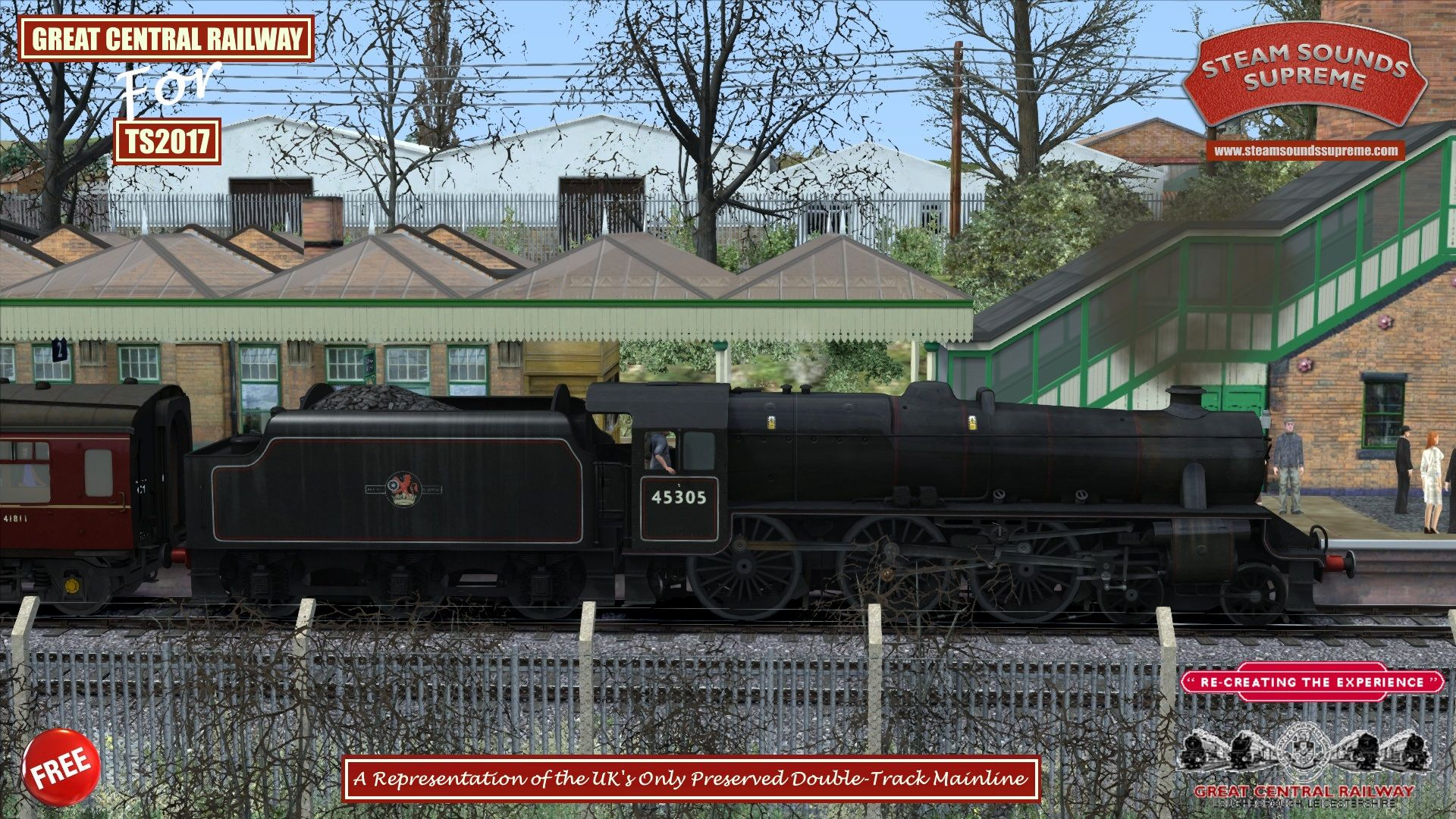 The Great Central Railway Freeware Routes