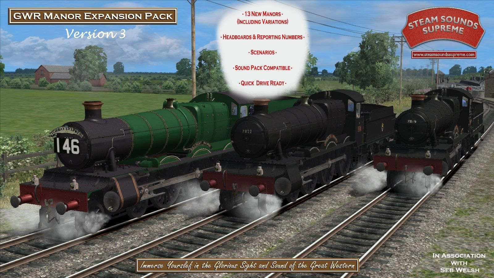 Steam Loco + Rolling Stock Packs