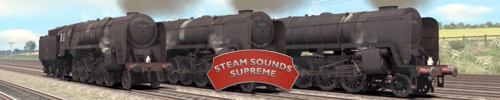 Steam Sounds Supreme, site logo.
