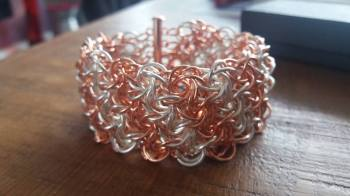 Moorish Rose Chainmaille Bracelet Workshop