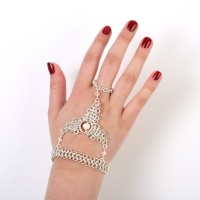 Chainmaille Hand Flower/Bracelet tutorial only