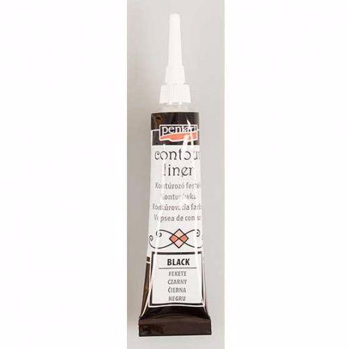Pentart Contour Liner Black