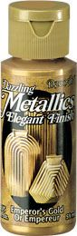 DecoArt Metallic Paint (Americana) Emperors Gold Metallics 2oz