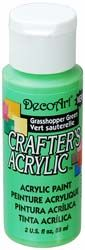 DecoArt Grasshopper Green Crafters Acrylic 2oz