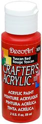 DecoArt Tuscan Red Crafters Acrylic 2oz