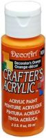 DecoArt Decorators Orange Crafters Acrylic 2oz