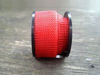 Knitted Wire 15mm Vivid Red