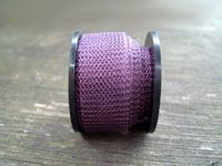 Knitted Wire 15 mm Dark Purple