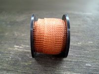 Knitted Wire 15 mm Warm Gold