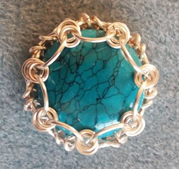 Chainmaille Cabochon Capture