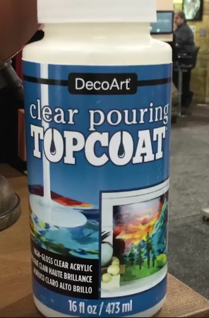 DecoArt Clear Pouring Top Coat 16oz