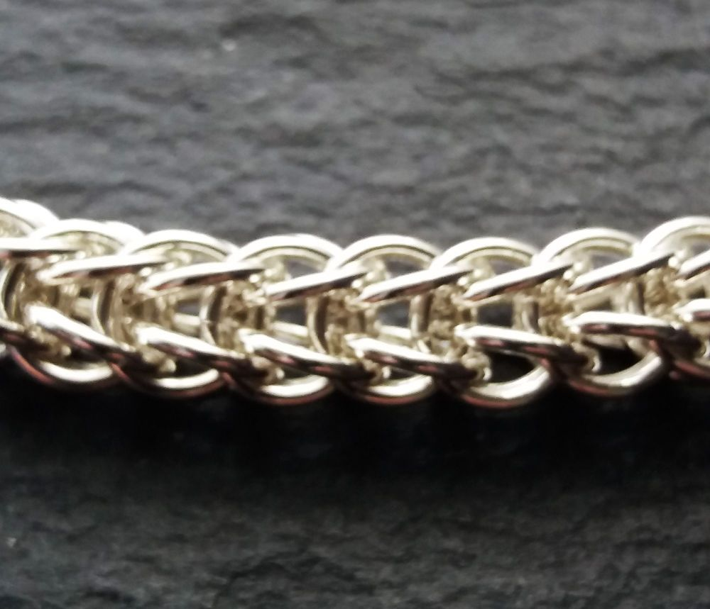 Sterling Silver Full Persian Bracelet